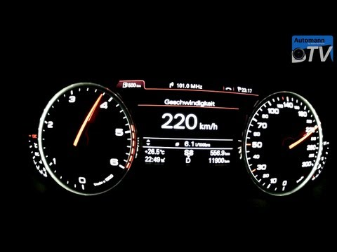 Autobahn Test - Audi A6 2.0TDI (177hp) Multitronic (1080p FULL HD)