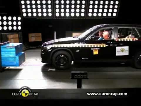 Crash test BMW X1 - БМВ Х1