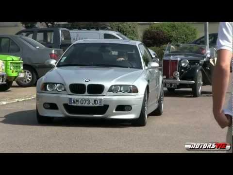 Grey BMW M3 e46 (Intro TEST) [HD]
