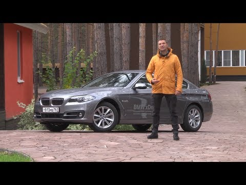 тест BMW 5 series (2014)    www.skorost-tv.ru