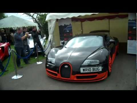 Bugatti Veyron Super Sport On The Track- Acceleration and Driving