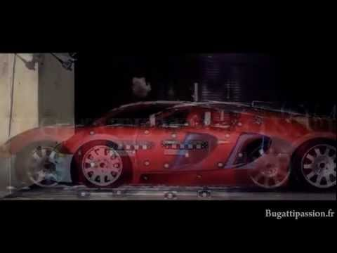 Crash Test Bugatti Veyron.