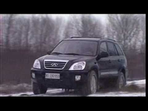 Chery Tiggo Off Road 2 Snow Sneg.avi