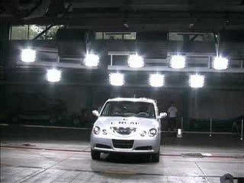 Chinese car crash test - Chery QQ6 Cncap