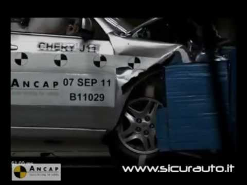 Crash test ANCAP Chery J11, vettura