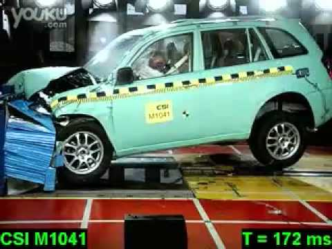 Crash-test Chery Tiggo DR5