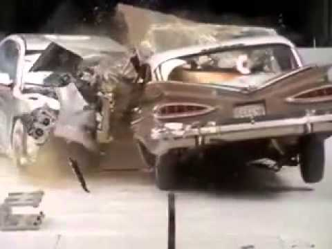 1959 Chevrolet Bel Air vs 2009 Chevrolet Malibu Crash Test