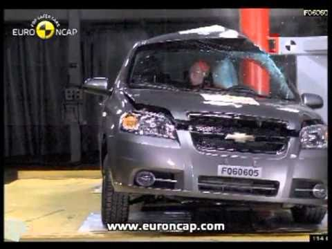 Crash test - Chevrolet Aveo