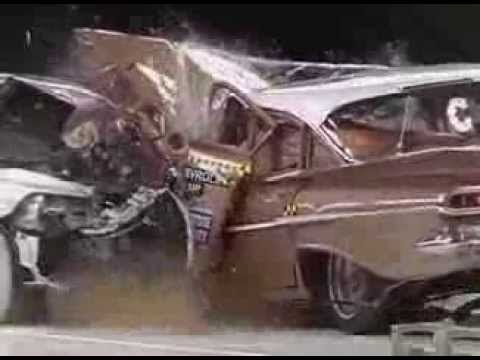 Crash Test: Chevrolet Bel Air '59 VS Chevrolet Malibu '09