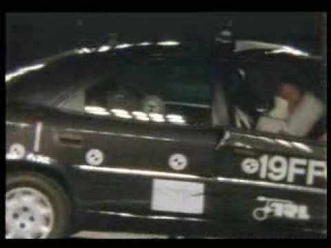 crash test Citroen Xantia (1)