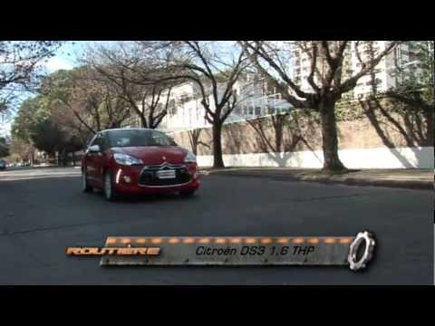 Routiere Test Citroen DS3 1.6 THP con GPS Pgm 176