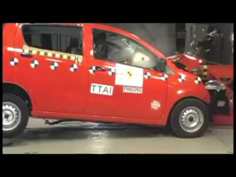 Crash test Daihatsu Cuore 2008