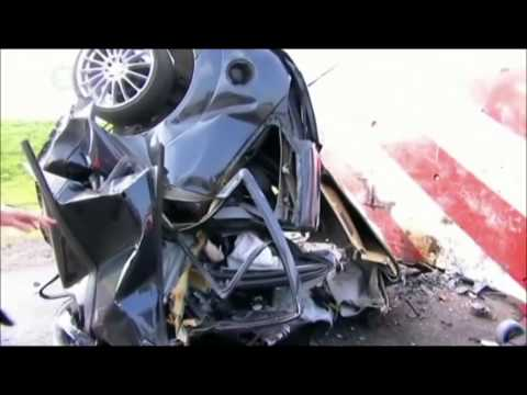 Crash Test Ford Focus 120 mph 190 kmh