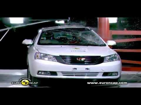 CAR CRASH TEST Geely Emgrand EC7 2012