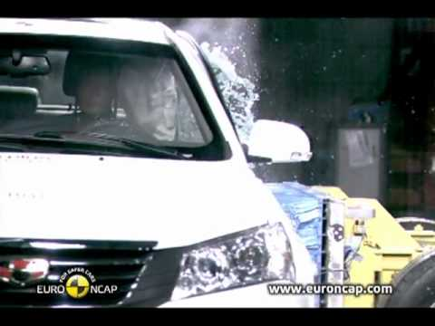 Chinese Car Crash Test: Geely Emgrand EC7 (Euro-NCAP - 4 stars)