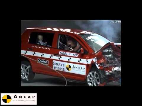 Geely 2011 ANCAP crash test
