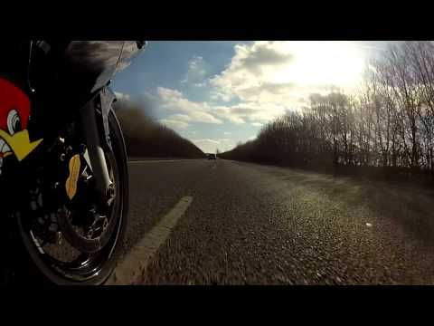 Gopro Hero 2 Test Honda CBR 600RR Ride 3