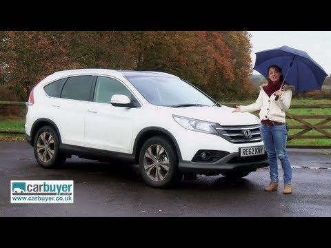 Honda CR-V review - CarBuyer