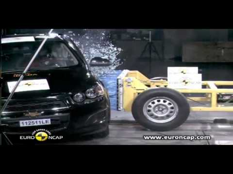 Crash test New Chevrolet Aveo 2012