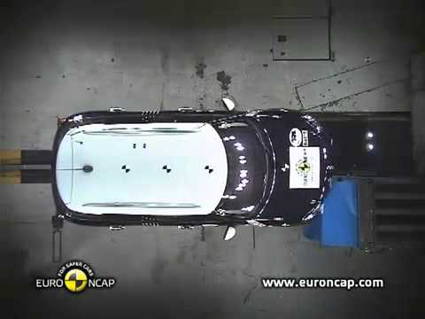 New Euro NCAP Crash Test MINI Countryman 2011