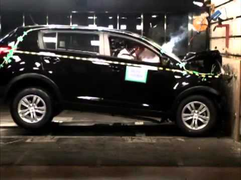 Crash Test   Kia Sportage 3
