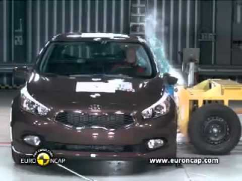 EuroNCAP Agosto 2012: Kia cee'd 2012 (Crash Test)