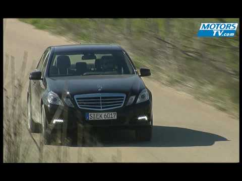 Car test MERCEDES Classe E 500