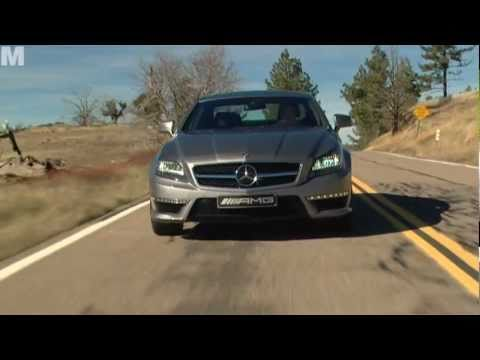 Test Mercedes CLS 63 AMG (english / 2011)