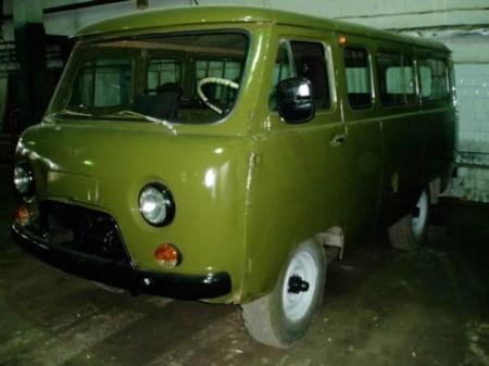 Автомобиль УАЗ 2206 – вездеход и микроавтобус