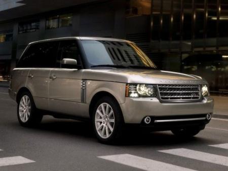 Range Rover Vogue. Фото внедорожника