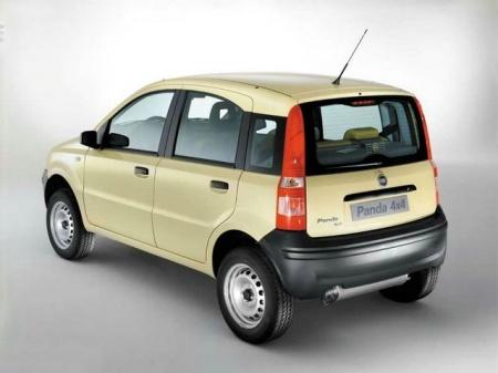 Fiat Panda 4x4. Цена хэтчбека