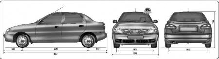 Обзор на легковой автомобиль ZAZ Sens