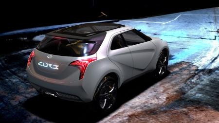 Новинка от Hyundai: не потерять бы двери. Hyundai Curb