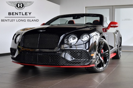 Новый Bentley Continental GT Speed Black Edition.