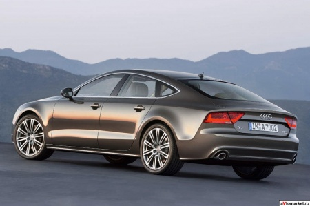 Хэтчбек Audi A7, вторая генерация.