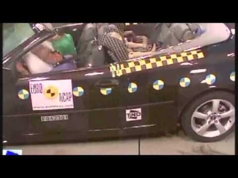 Crash test Saab 9-3 Convertible 2004
