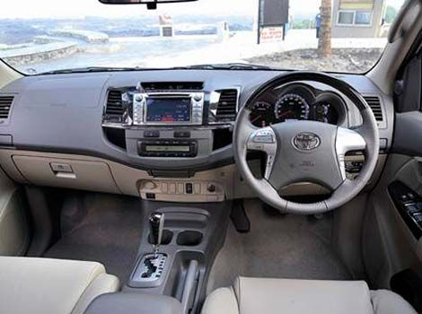 toyota fortuner test-drive